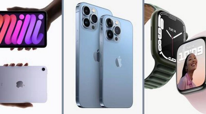 iPhone 13 series, Watch Series 7 and two new iPads: Highlights from Apple's 'California Streaming' Event